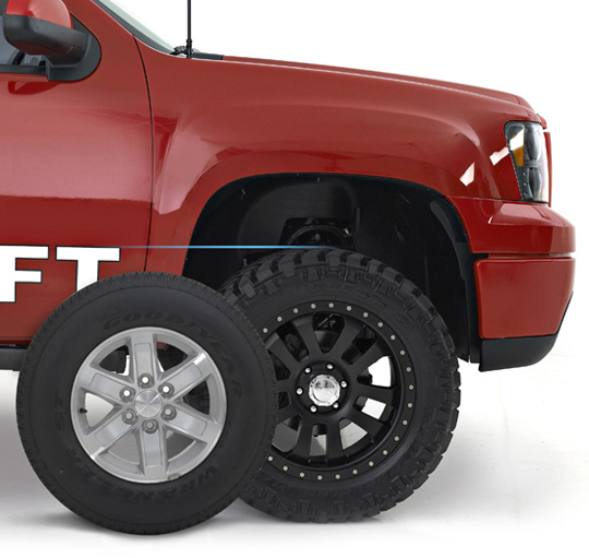"""2007-2013 GM 1500 4WD 4.0"""" SST Lift Kit with Uniball UCAS -- 69-3486"""