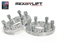 ReadyLift GM 1500 7/8 Inch Wheel Spacers w/ studs -- 10-3485