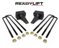"ReadyLift 2011-2016 Ford F250/350/450 4WD Dually Rear Springs 4"" Rear Block Kit -- 66-2024"