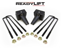 "ReadyLift 2011-2016 Ford F250/350/450 4WD Dually Rear Springs 5"" Rear Block Kit -- 66-2025"