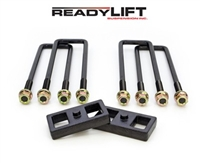 "2011-2016 GM 2500HD/3500HD OEM Style 1"" Rear Lift Block Kit - 66-3121"