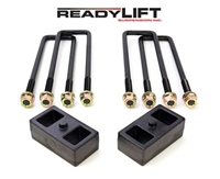 "2011-2016 GM 2500HD Trailer Package/3500HD Dually OEM Style 2"" Rear Lift Block Kit  -- 66-3122"