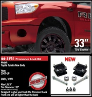 "2007-2012 Toyota Tundra 2WD/4WD PreRunner Look 3.0"" Front Lift Kit -- 66-5951"