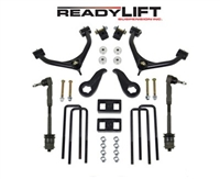 "2011-2016 4.0""Front /1.0""Rear GM 2500/3500HD 2WD/4WD Tow/Dually SST Lift Kit -- 69-3421"