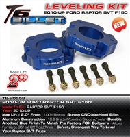 "ReadyLift Ford Raptor, 2010-2014, T6 Billet 2.0"" Leveling Kit -- T6-2055B"