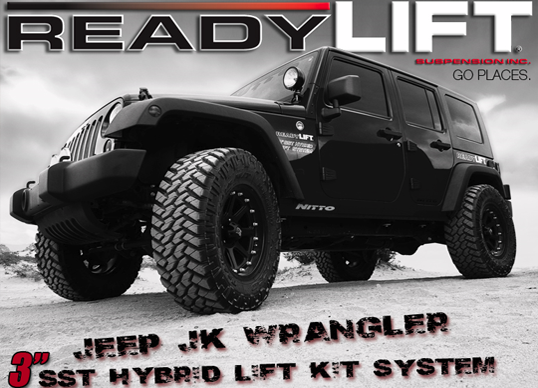 Readyliftstore comreadylift jeep wrangler 3 inch