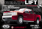 ReadyLift Silverado/Sierra Strut Mount Spacer Leveling Kits