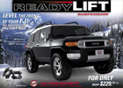 ReadyLift FJ 2.25 Inch Leveling Kit