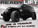 ReadyLift Jeep Wrangler 3 Inch Lift Kit