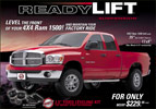 ReadyLift Dodge Ram 1500 2.5 Inch Leveling Kit