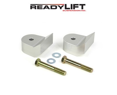 "Readylift 1.5/"" F250 Lower Spacer Front Leveling Kit T6 Billet Black T6-2111K"