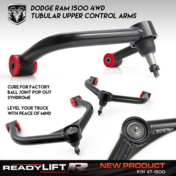 2006-2016 Dodge Ram 1500 4WD - Upper Control Arms -- 67-1500
