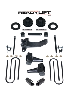 2011-2016 Ford F250 Super Duty Dually Rear Springs 4WD 2.5 Inch Front/2.0 Inch Rear Stage 3 SST Lift Kit -- 69-2524